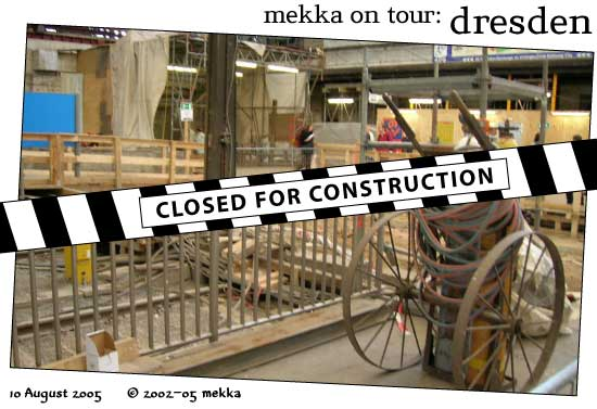 mekka on tour: Dresden